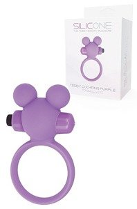 Teddy Cockring Silicone Purple