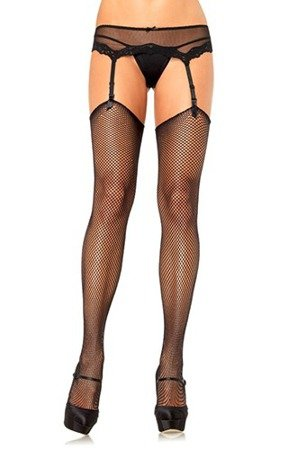 Pończochy Fishnet Stockings Black